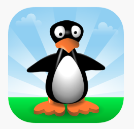 Picture of Jiji the Penguin for ST Math